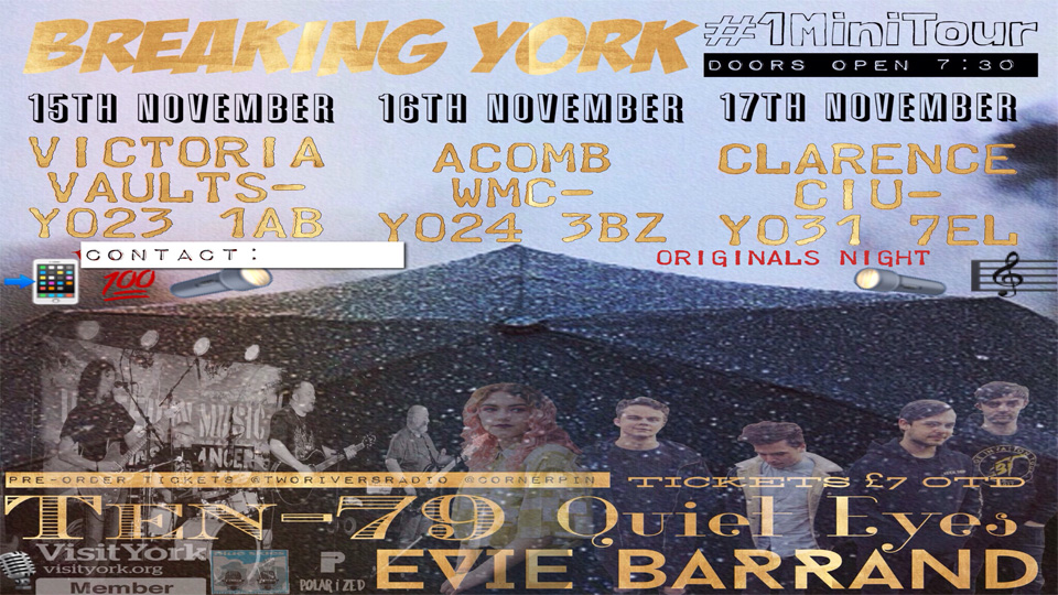 Breaking York Mini-tour